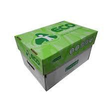 Caixa Papel Reciclado A4 75g Jandaia Eco Millennium com 10 Resmas - Sustentável! FRETE GRÁTIS BSB!