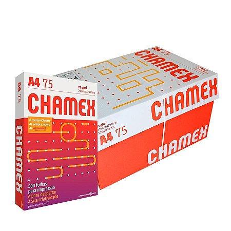 Caixa Papel A4 Chamex Office 75g com 10 Resmas - FRETE GRÁTIS BSB!