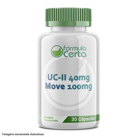 UC-II 40mg +  Move 100mg -  30 Cápsulas