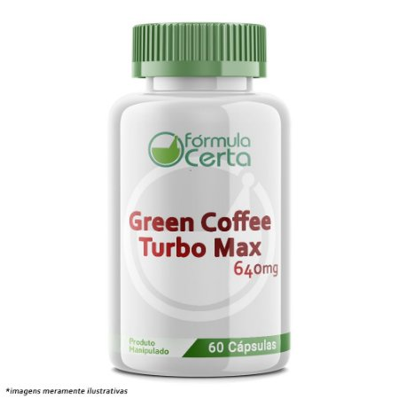 Green Coffee Turbo Max 640mg 30 Doses