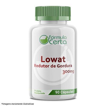 Lowat 300 mg - Redutor de Gordura em Cápsula