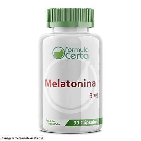 Melatonina 3mg  90 caps