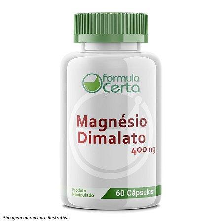 Magnésio Dimalato 400mg