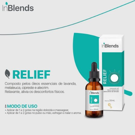 Óleo Essencial - INBLENDS RELIEF 20 ML