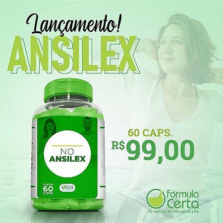 No AnsileX 60 Doses - Adeus a Ansiedade e Compulsão Alimentar