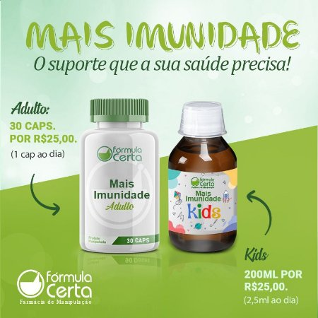 Mais Imunidade KIDS - 200 mL