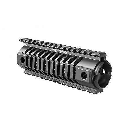 NFR - TRILHO QUÁDRUPLO PARA COMPRIMENTO M16