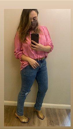 Calça Jeans Yoga