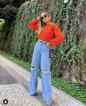 Calça Jeans WideLeg Livia