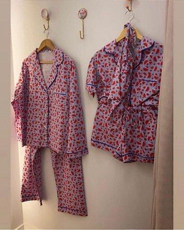 Pijama Longo Melancia