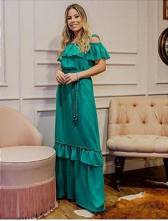 Vestido Alice B Verde