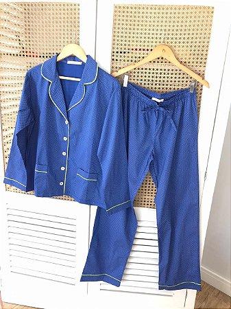 Pijama Azul Bic Poa
