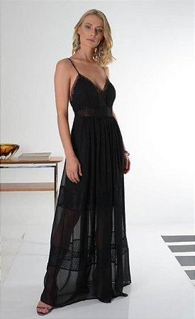 Vestido Gisely Preto