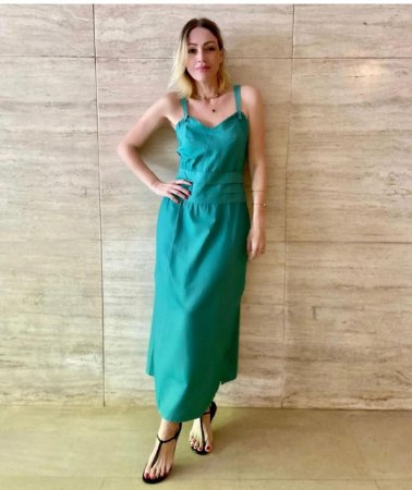 Vestido Patricia Verde