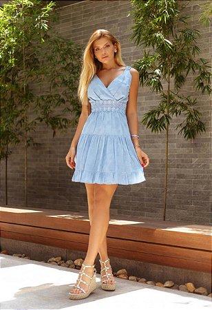 Vestido Raquel Azul