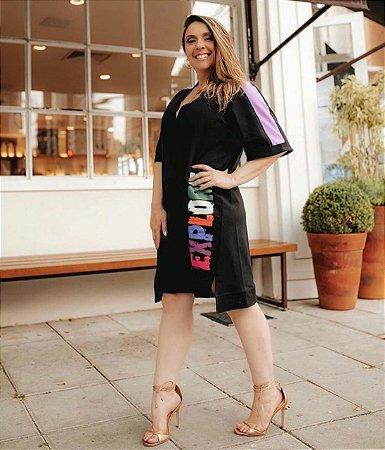 Vestido Paulina Preto