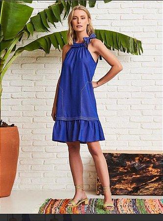 Vestido Adriele Azul