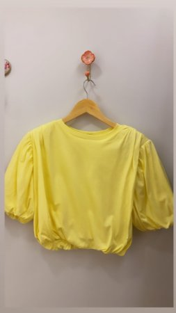 T-Shirt Balone Amarela