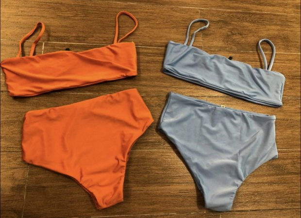 Biquíni Hot Pants Colors - Laranja