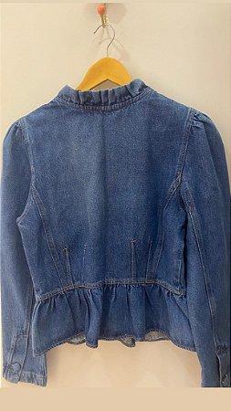 Jaqueta Jeans Babados - Produto Disponível na Pré Venda