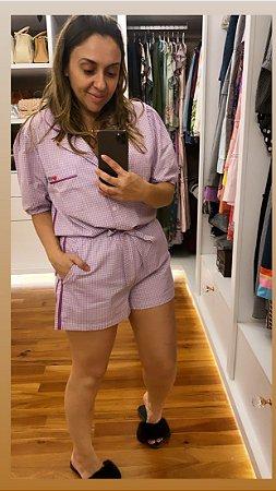Pijama com Shorts MissLolla lavanda