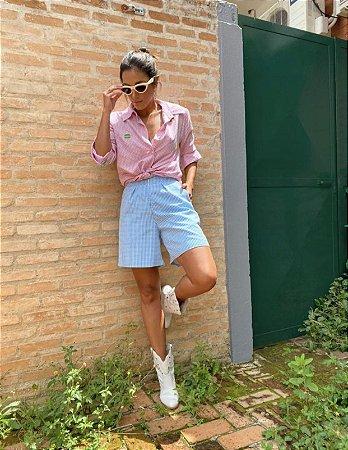 Camisa Macarrons Rosa  Aquarella