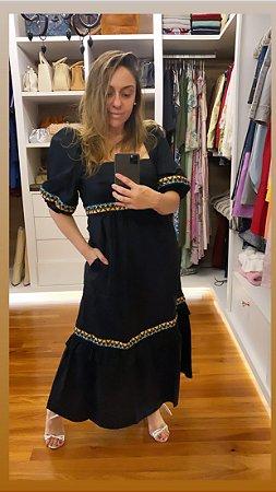 Vestido Kerline Preto