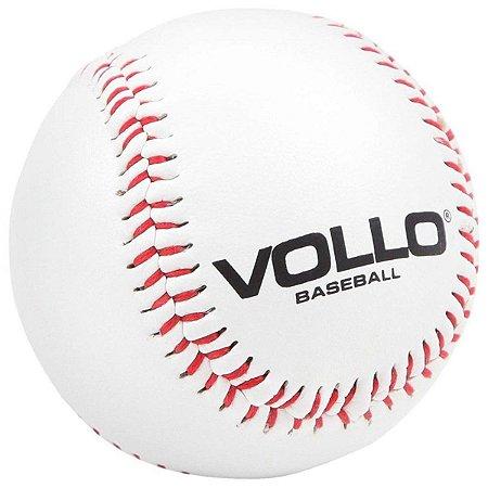 Bola Baseball Vollo Com Miolo Cortiça e Borracha - Branco
