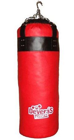 Saco De Pancada Boxe 100cm Impacto 60kg Artes Marciais Deveras