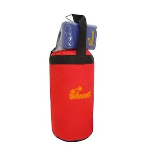 Kit de boxe infantil com saco de pancadas e luva bate saco pancada - Deveras