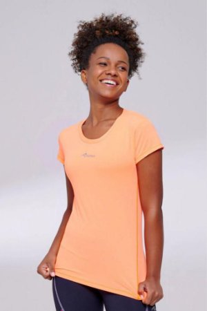 Camiseta Authen keep cool Pep - coral