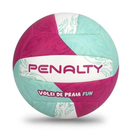 Bola Vôlei Praia Penalty Fun XXI - Branco+Verde