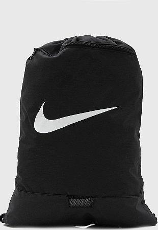 Sacola Nike Brsla Gmsk 9.0 - Preto+Branco BA5953-010