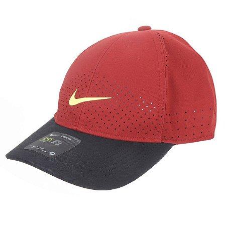Boné Nike Aba Curva Arobill L91 Cap - Vinho