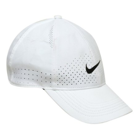 Boné Nike Aba Curva Arobill L91 Cap - Branco+Preto