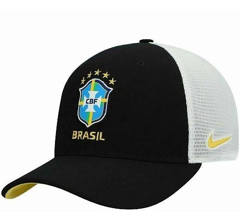 Boné Nike Brasil Aerobill Classic 99 Trucker Cap Dri-fit