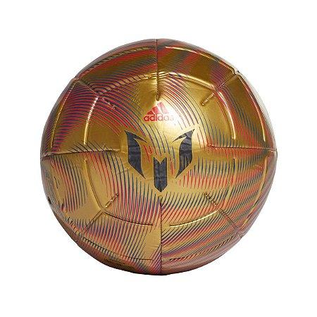Bola de Futebol Campo Adidas Messi - Dourado+Vermelho