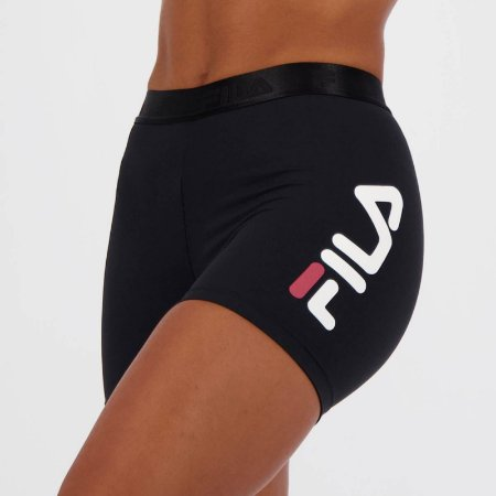 Shorts Fila Train Elastic II Feminino-Preto