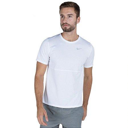 Camiseta Nike Dri-Fit Run Masculina - Branco