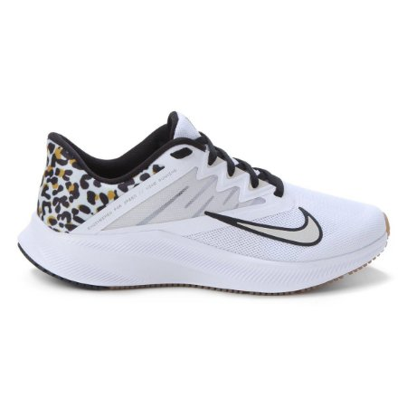 Tênis Nike Quest 3 Premium Feminino - Branco+Preto