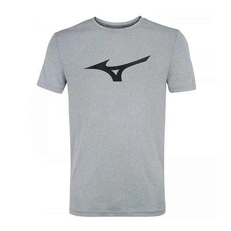 Camiseta Mizuno Run Spark Masculino - Cinza
