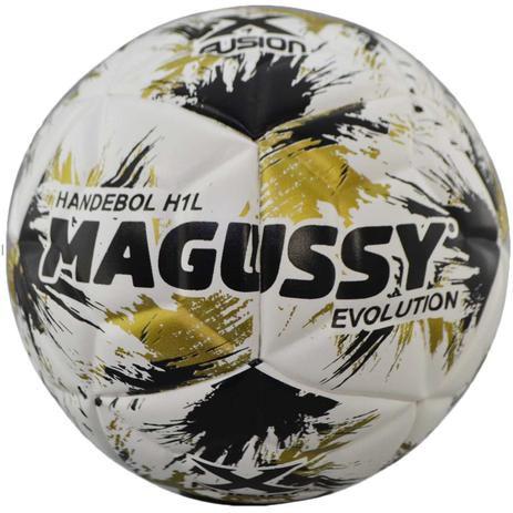 Bola Magussy Evolution Handebol Infantil H1L Branca