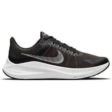 Tênis Nike Feminino Winflo 8 - Preto+Branco
