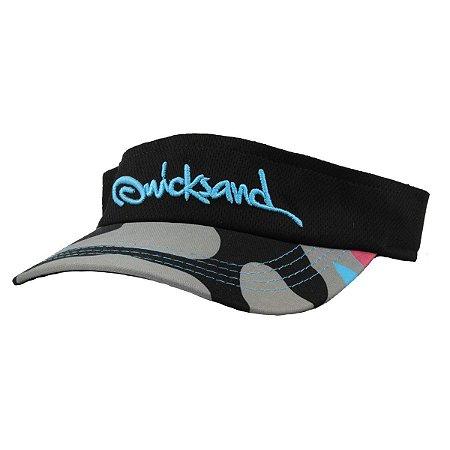 Viseira Bordada Camuflada - Quicksand