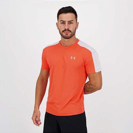 Camiseta Masculino Under Armour Speed Stride  Laranja