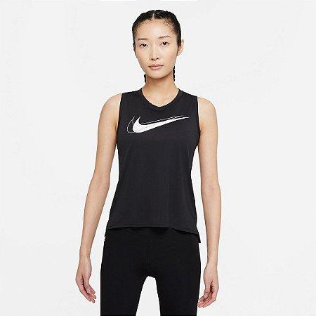 Camiseta Regata Nike Feminino Dri-FIT Swoosh Run