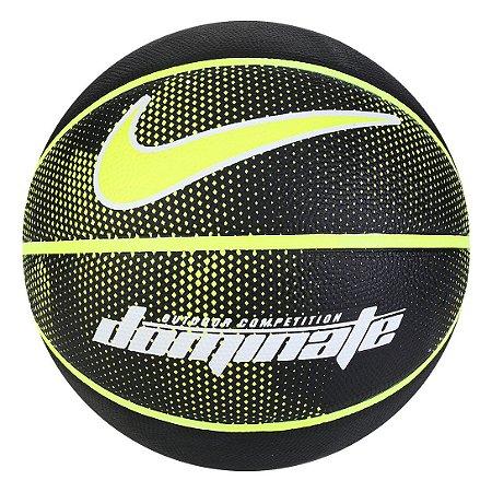 Bola de Basquete Nike Dominate 8P Tam 7 - Preto+verde