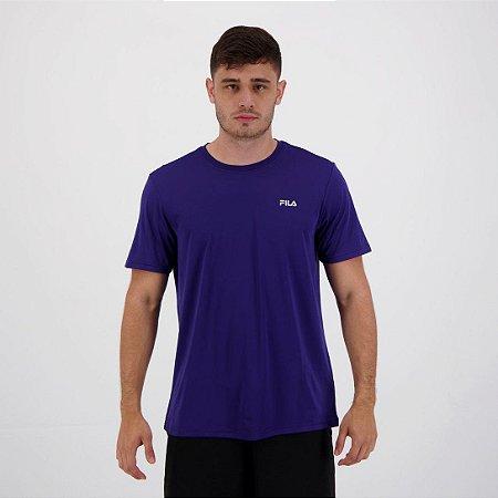 Camiseta Fila Masculino Basic Sports Azul