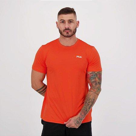 Camiseta Fila Masculino Basic Sports Laranja