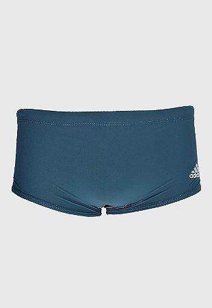 Sunga Adidas 3 Listras Wide Azul